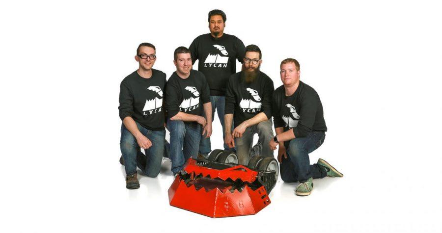 Ravi and Team Lycan from Battlebots Season 2! http://battlebots.com/lycan